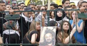 """تواصل فعاليات التضامن مع أسرى """" الأمعاء الخاوية """" فى رام الله"""