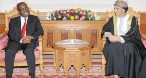 نيابة عن جلالة السلطان .. فهد بن محمود يستقبل رئيس وزراء الكونجو الديموقراطية