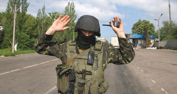 """أوكرانيا: ألمانيا تسعى لـ """"حوار وطني"""" وروسيا تطالب بوقف (العسكرة)"""