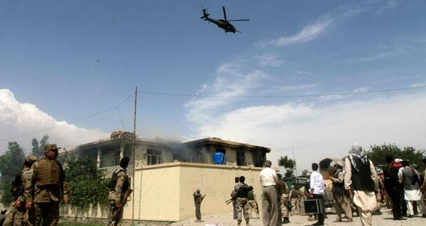 أفغانستان: 10 قتلى بسلسلة هجمات إحداها على (باجرام)