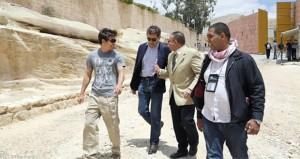 """روان اتكينسون """"مستر بين"""" يزور مدينة البتراء الأثرية في الأردن"""