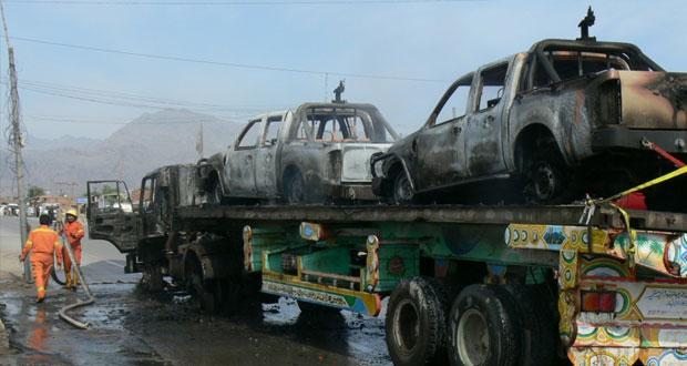 أفغانستان: 55 قتيلا باشتباكين منفصلين وباكستان تسمح بمرور مركبات عسكرية