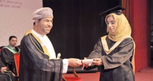 كلية الشرق الأوسط تحتفل بتخريج الدفعة الرابعة من طلاب برنامج إدارة الوثائق والمحفوظات