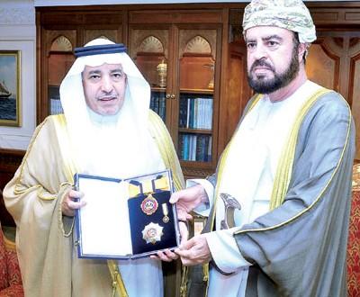 جلالتة يمنح وسام النعمان للسفير السعودي