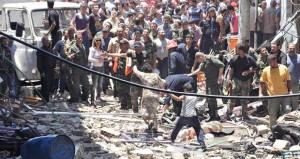 سوريا: (مفخخات) الإرهاب تقتل 7 بحمص وأميركا تعلن تسليح وتدريب المسلحين