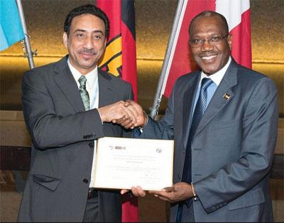 تكريم السلطنة لشراكتها في تنظيم القمة العالمية لمجتمع المعلومات