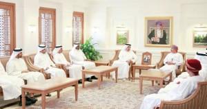 البكري يتسلم ملفات عمل فريق الرؤى للمعايير والمؤهلات الخليجية