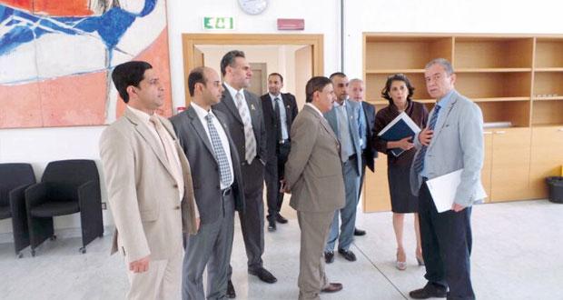 البكري يطلع على برامج مركز تورينو للتدريب التابع لمنظمة العمل الدولية