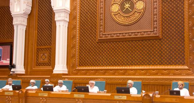 مجلس الدولة يستضيف رئيس هيئة المنطقة الاقتصادية الخاصة بالدقم ويستعرض أهم ملامح ما تحقق بالصرح الاقتصادي