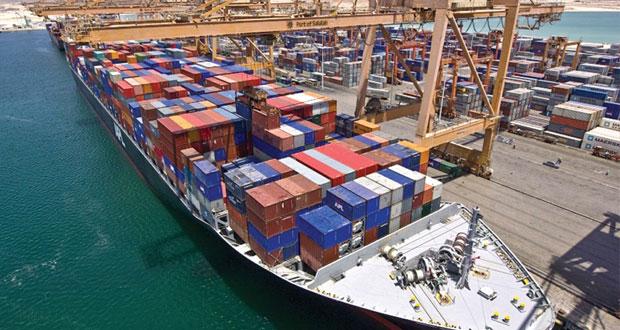 بنهاية أبريل الماضي 5.6 مليون طن إجمالي البضائع في ميناءي السلطان قابوس وصلالة
