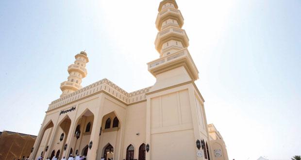 برعاية مساعد مفتى عام السلطنة افتتاح جامع الشيخ محمد بن عمير الهنائي بالسيب