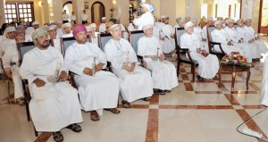 يوسف بن علوي يرعى حفل تدشين الموقع الإلكتروني لوزارة الخارجية العمانية