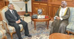 خالد بن هلال يستقبل سفيري كازاخستان وباكستان