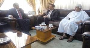 أمين عام مجلس الشؤون الادارية للقضاء يلتقي بمدير عام معهد القضاء الأردني