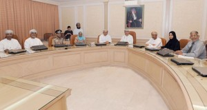 وزير الصحه يتراس اجتماع مجلس الأمناء بالمجلس العماني للاختصاصات الطبية