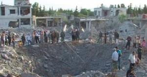 سوريا: 85 بين قتيل وجريح في مفخخة والأمم المتحدة تطالب بـ)حظر التسليح)