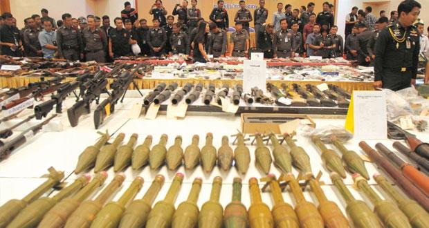 مقتل شرطيين فـي كمين نصبه مسلحون بتايلاند