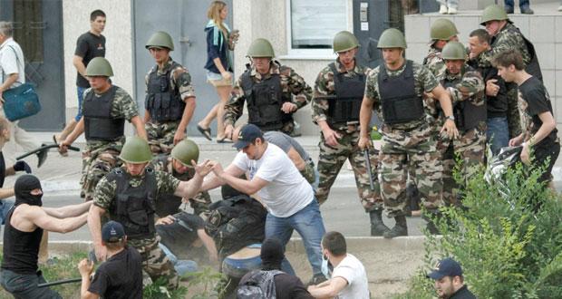 أوكرانيا : استهداف خط الغاز دون تأثر الإمدادات..