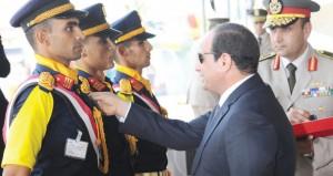 مصر: السيسي وعبد الله بن عبدالعزيزيبحثان سبل تطوير كل جوانب العلاقات الثنائية