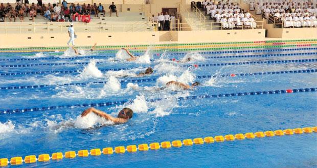 سلاح الجو السلطاني العماني يختتم بطولة السباحة لعام 2014