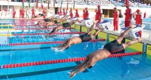 الجيش السلطاني العماني يختتم بنجاح فعاليات بطولة السباحة