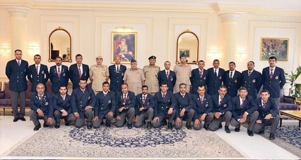 فريق قوات السلطان المسلحة للرماية يغادر البلاد متوجهاً إلى المملكة المتحدة