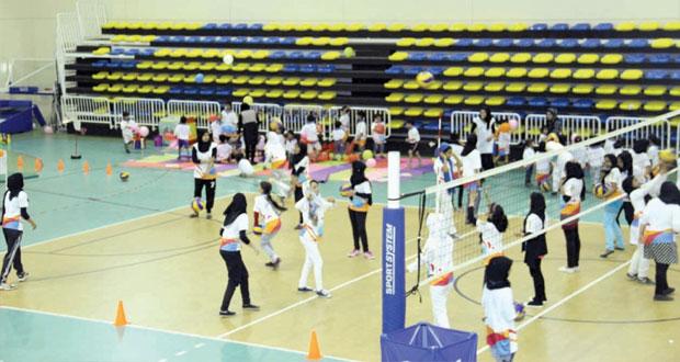 تواصل الإثارة و المتعة في فعاليات برنامج صيف الرياضة 2014