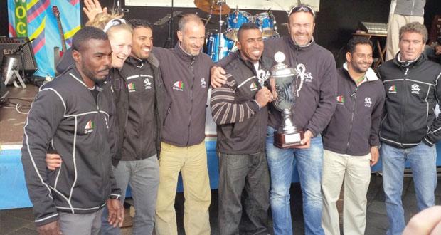 القارب مسندم يحطم رقما قياسيا جديدا في مهرجان كيل للإبحار الشراعي