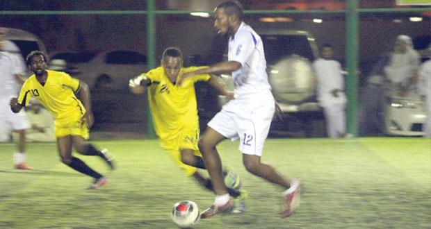 افتتاح بطولة محافظة البريمي السابعة لكرة القدم