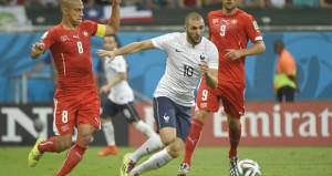 فرنسا تمطر شباك سويسرا بخماسية وتضع قدما في الدور الثاني