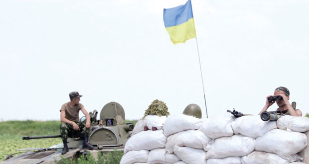 بعيد تنصيبه رسميا.. الرئيس الأوكراني يتعهد بـ(سلام في الشرق)