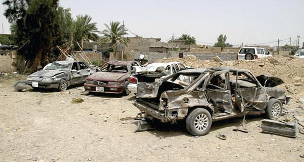 العراق: قتلى وجرحى بينهم ضابط برتبة كبيرة في عدة هجمات