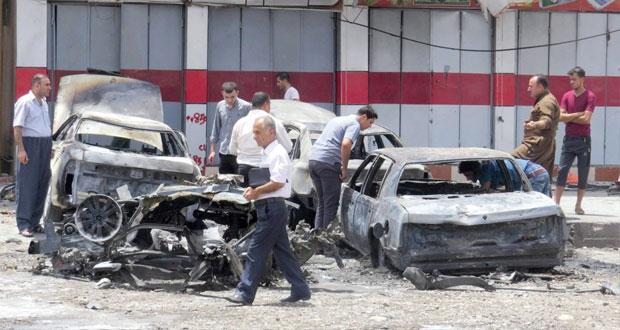 العراق: العنف يحصد عشرات القتلى والجرحى في عدة هجمات