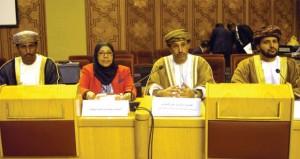 السلطنة تشارك في اجتماعات اللجان الدائمة للبرلمان العربي بالقاهرة