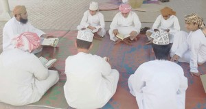 يوم تراثي في مركز الحكمة الصيفي بولاية صحار