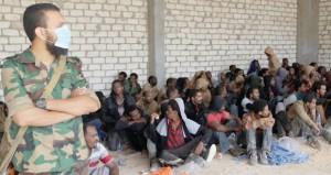 ليبيا إلى اقتتال بين القوات في (مكافحة الإرهاب)