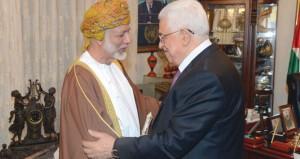 الرئيس الفلسطيني يستقبل ابن علوي