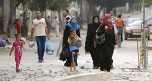 عشرات الشهداء بينهم أطفال مع بدء الاجتياح البري والمقاومة تقنص جنديا