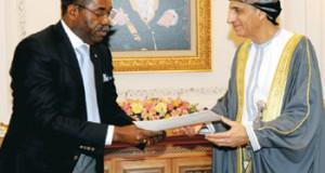 جلالة السلطان يتلقى رسالة خطية من الرئيس التنزاني
