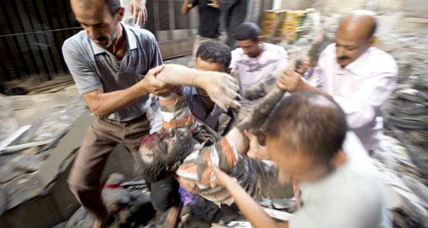 شهداء العدوان على غزة يلامسون الـ300 بينهم أطفال وقتلى الاحتلال 25