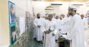 معرض التصوير الفوتوغرافي يختتم الملتقى الفني الثقافي لفريق الصمود بنـزوى