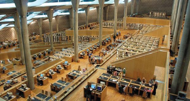 مكتبة الإسكندرية تتسلم 260 رسما معماريا لمقبرة آغا خان في جنوب مصر