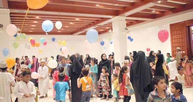 """أكثر من """"2000″ طفل في بيت الزبير احتفالا بليلة القرنقشوه"""