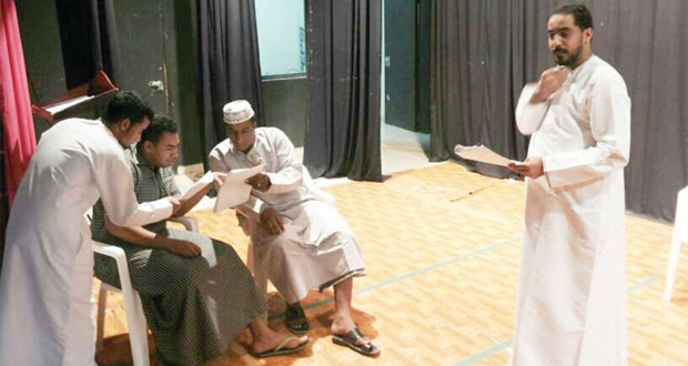 (الكنز) على مسرح نادي نزوى رابع أيام عيد الفطر