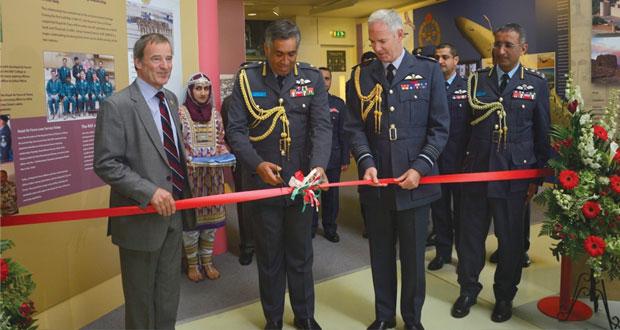 افتتاح المعرض الجوي العماني ـ البريطاني المشترك فـي العاصمة البريطانية لندن