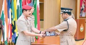 كلية القيادة والأركان تحتفل بتخريج الدفعة السابعة والعشرين