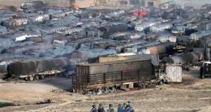أفغانستان : «طالبان» تدمر صهاريج الوقود بالقرب من كابول