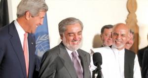 افغانستان : اتفاق على إعادة فرز 8 ملايين صوت بين مرشحي الانتخابات الرئاسية