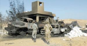 مصر تعلن الحداد ثلاثة أيام على جنودها القتلى من حرس الحدود
