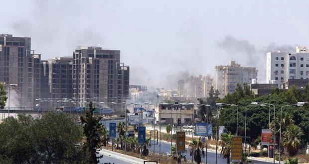 ليبيا: معارك ضارية بين ميليشيات متناحرة حول مطار طرابلس